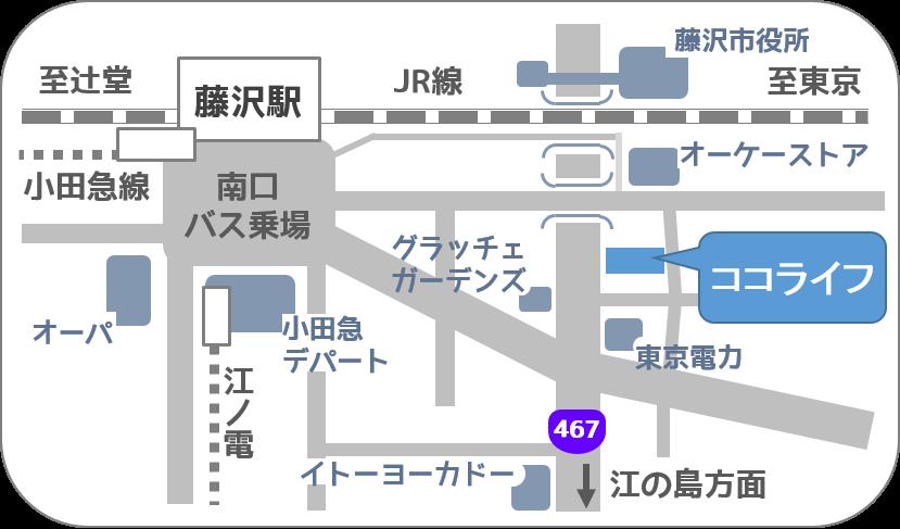 ココライフ介護サービス地図